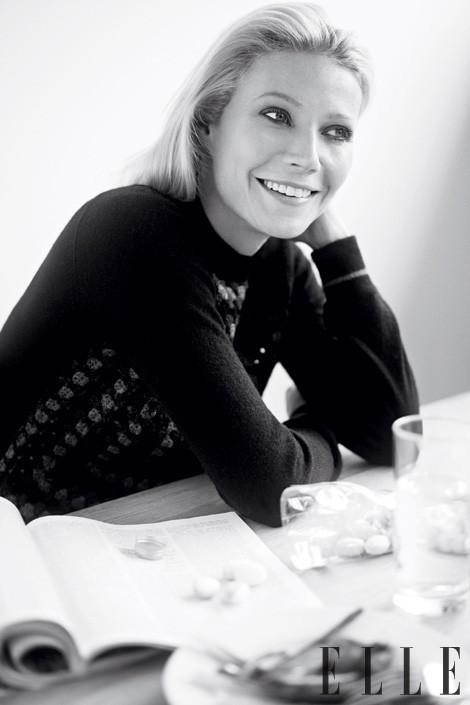 Съёмка: Гвинет Пэлтроу для Elle. Изображение № 4.