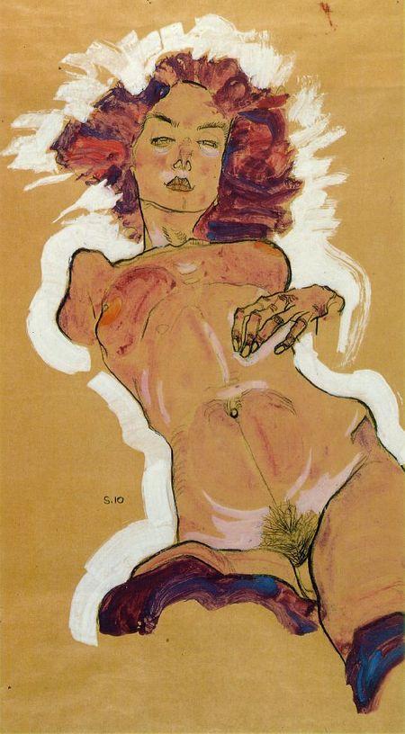 Эгон Шиле. Эротика вискусстве живописи ирисунка. Изображение № 24.