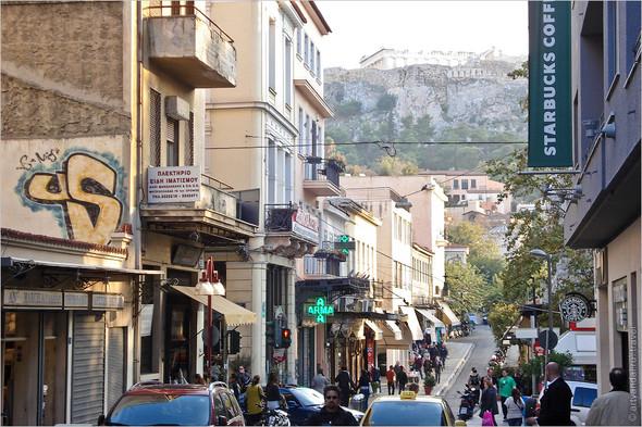 Стрит-арт и граффити Афин, Греция. Часть 2. Изображение № 9.