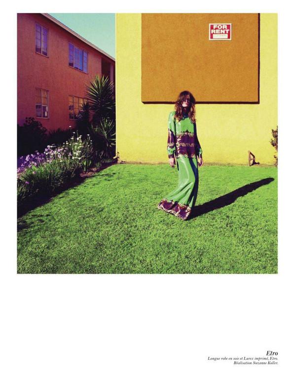 Съёмка: Аризона Мьюз, Лара Стоун, Наташа Поли и другие модели во французском Vogue. Изображение № 34.