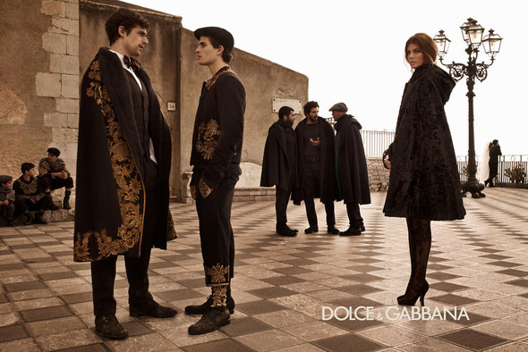 Кампании: Balenciaga, Celine, Dolce & Gabbana и другие. Изображение № 15.