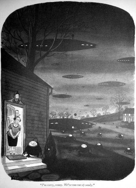 10 иллюстраторов журнала New Yorker. Изображение №17.