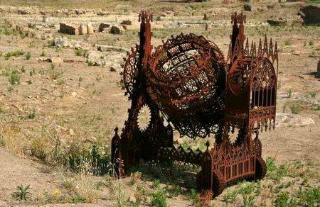 Gothic excavator sculpture. Изображение № 6.
