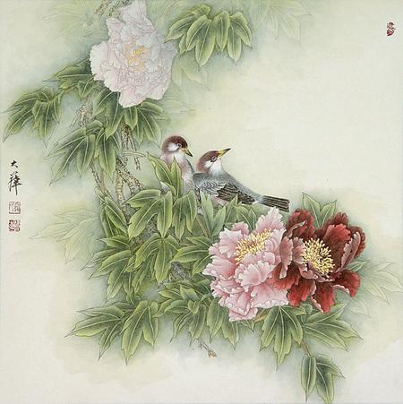 Птицы ицветы. Изображение № 7.