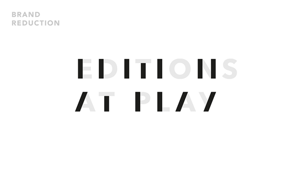 Книжный проект Google иVisual Editions получил динамичный логотип. Изображение № 2.