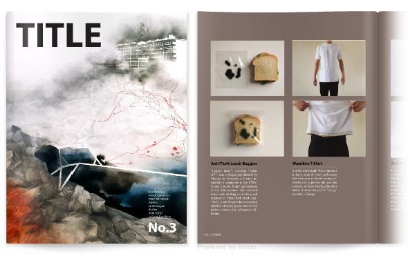 Лучшие журналы месяца наissuu. com. Изображение № 5.