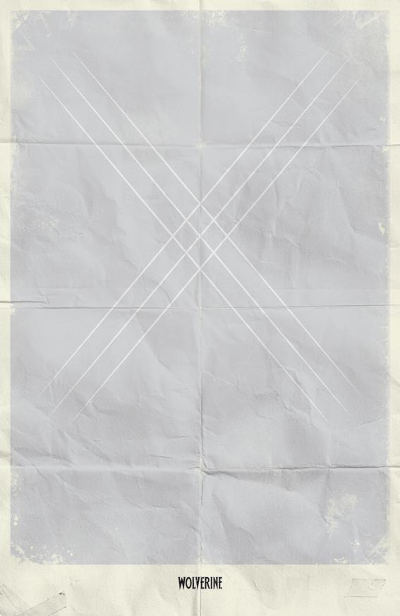 Минималистичные постеры для Marvel Comics. Изображение № 8.