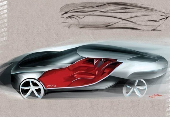Chanel Fiole – Concept Car Design. Изображение № 3.