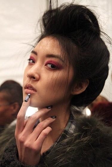 Изображение 1. Beauty looks на неделе моды в Нью-Йорке.. Изображение № 1.