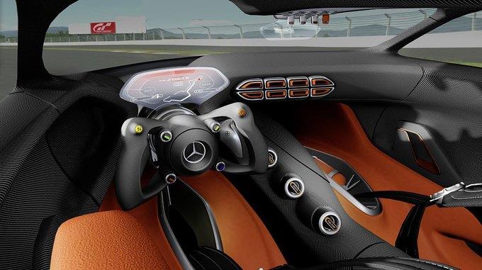 Mercedes-Benz разработала концепт спорткара для новой части Gran Turismo. Изображение № 16.