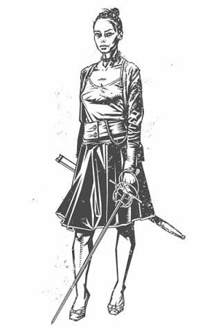 Девушки с оружием от Frank Barbara. Изображение № 10.