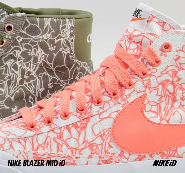 Nike X Liberty Summer Collection/  Blazer Mid iD.. Изображение № 33.
