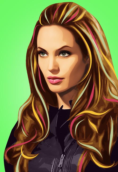 Три грации. Первая – Анджелина Джоли.  . Изображение № 1.