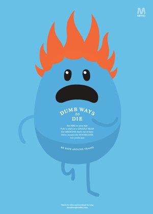 Создатель Dumb Ways to Die о том, как сделать социальную рекламу нескучной. Изображение №3.