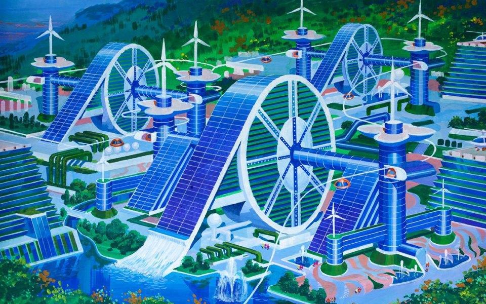 Какой видят архитектуру будущего  в Северной Корее . Изображение № 11.
