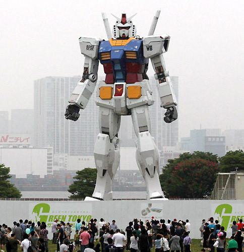 Суперроботы на вооружении у Японии. Изображение № 8.