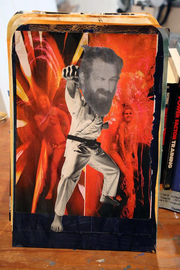 Изображение 32. Рисунки на конвертах Sage Vaughn.. Изображение № 32.