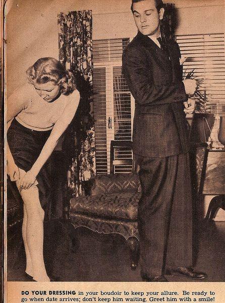 Как завоевать мужчину, вырезки из журнала 1938 года. Изображение № 2.