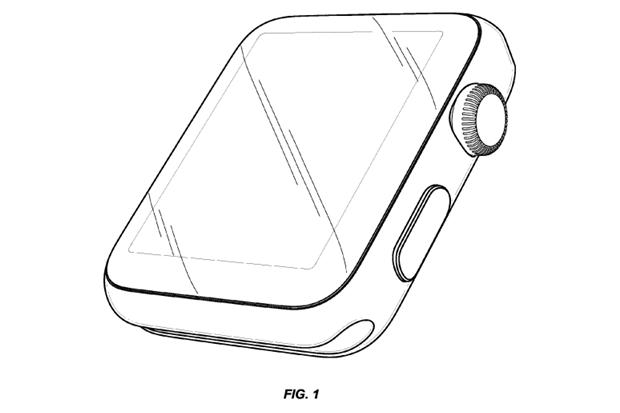 Apple запатентовала внешний вид Watch. Изображение № 1.