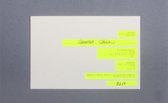 Изображение 33. Womenswear collections S/S 2011: show invitations.. Изображение № 33.