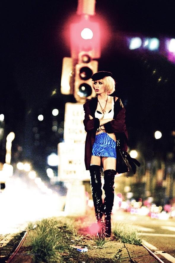 Съёмка: Николь Тренфио для LoveCat. Изображение № 12.