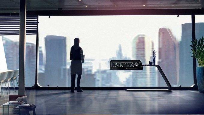 Спецэффекты: город будущего в рекламе Toshiba . Изображение № 8.