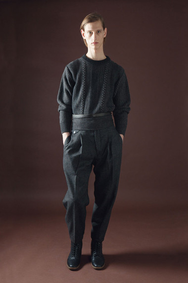 Лукбук: Christophe Lemaire 2012 Fall/Winter. Изображение № 13.