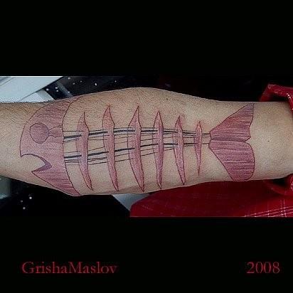 Татуировки в стиле Иннормизма. Изображение № 17.