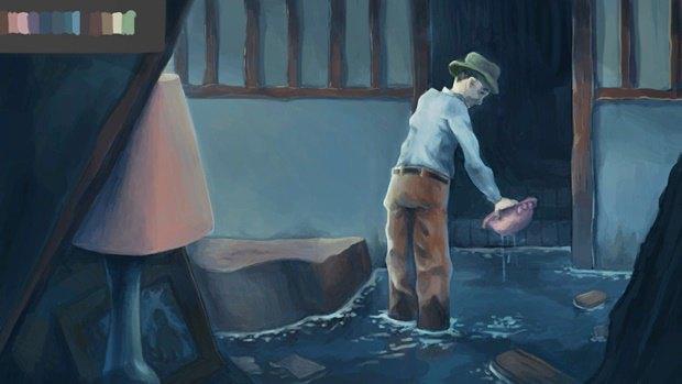 Анимация дня: японец, морской дух и груз прошлого. Изображение № 6.