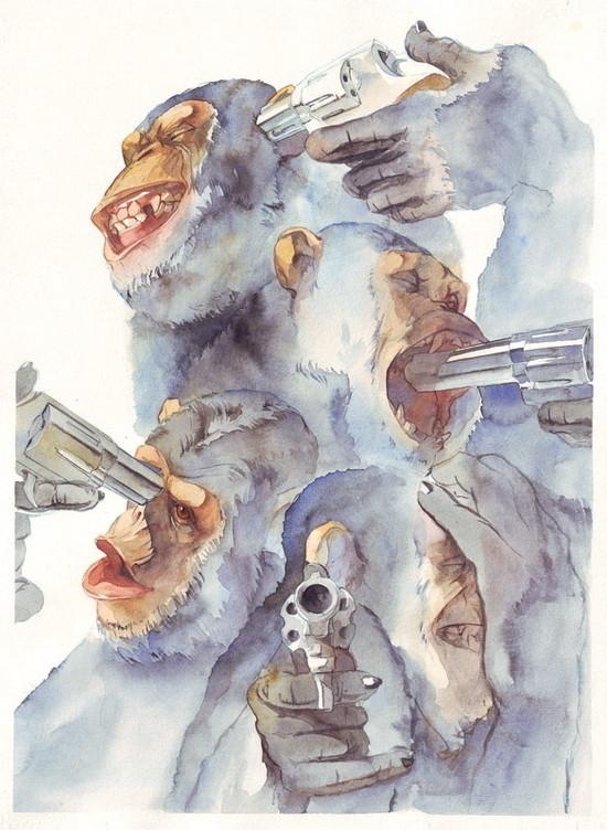 Изображение 16. Иллюстратор Reey Whaar .. Изображение № 16.