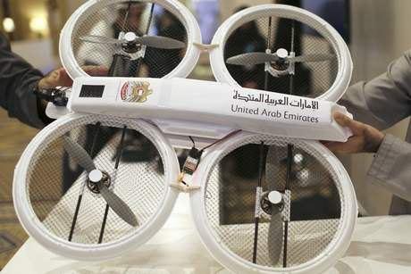 Дубай запустит программу дронов-курьеров . Изображение № 1.