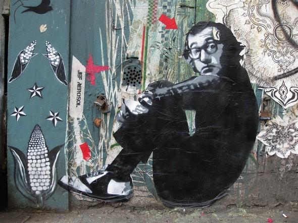 Граффити от легенды стрит-арта Jef Aerosol. Изображение № 21.