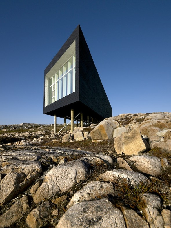 Long Studio, Fogo Island by Saunders Architecture на thisispaper.com. Изображение № 2.