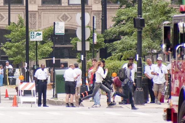 Съемки Трансформеров 3 в Чикаго. Изображение № 36.