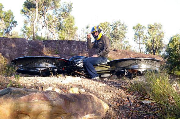 Изображение 8. Hoverbike.. Изображение № 8.