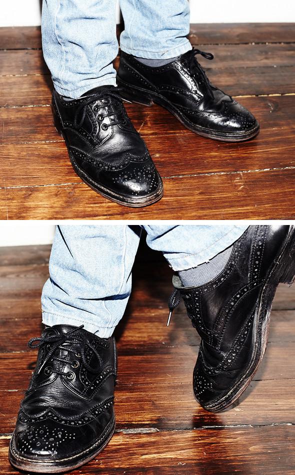 Изображение 14. Гардероб: Анатолий Хмелевской, совладелец компании British Shoes.. Изображение № 5.