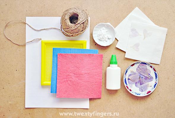 открытки из бумаги как делать: