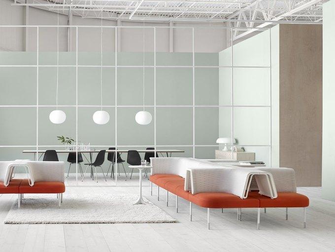 Herman Miller начал выпуск «гибкой» офисной мебели Ива Беара. Изображение № 3.