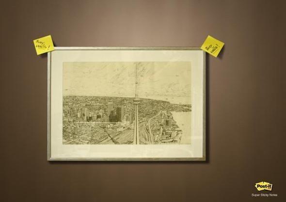 Изображение 9. Креативная реклама Post-it.. Изображение № 9.