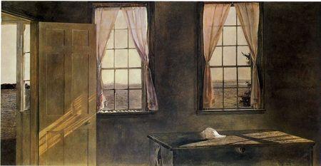 Andrew Wyeth- живопись длясозерцания иразмышления. Изображение № 1.