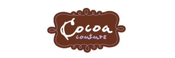 День шоколада. Вкусные шоколадные логотипы. Изображение № 9.