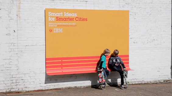 Рекламная кампания IBM защитит от дождя. Изображение № 2.