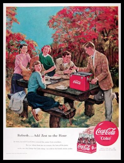 Изображение 41. Coca-cola – История бренда, история рекламы.. Изображение № 41.