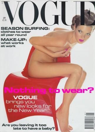 Кейт Мосс, наобложках главных модных журналов планеты. Изображение № 2.
