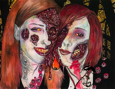 Зомби-портреты. Модно, качественно инедорого. Изображение № 1.