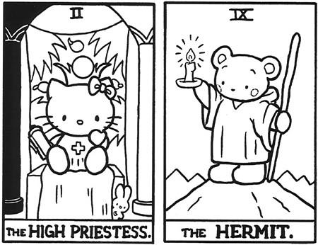 Hello Kitty Таро. Изображение № 13.