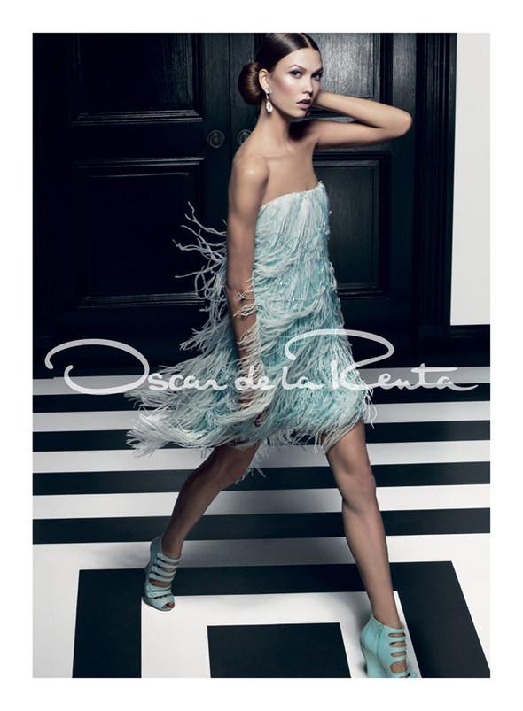 Кампания: Карли Клосс для Oscar de la Renta SS 2012. Изображение № 1.