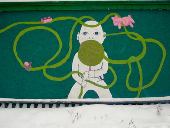 Изображение 11. Арт-забор как источник вдохновения.. Изображение № 9.