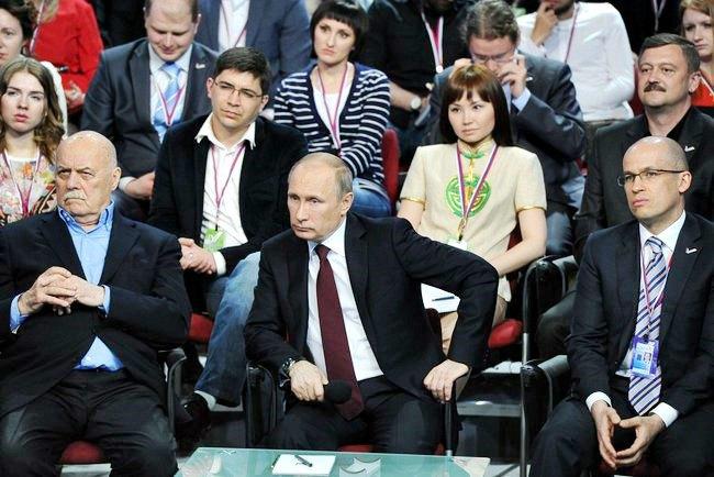 Владимир Путин на медиафоруме «Общероссийского народного фронта». Изображение № 1.