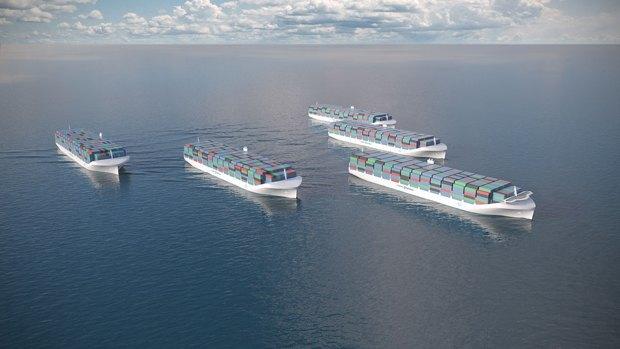 Rolls-Royce разрабатывает беспилотные грузовые корабли. Изображение № 1.